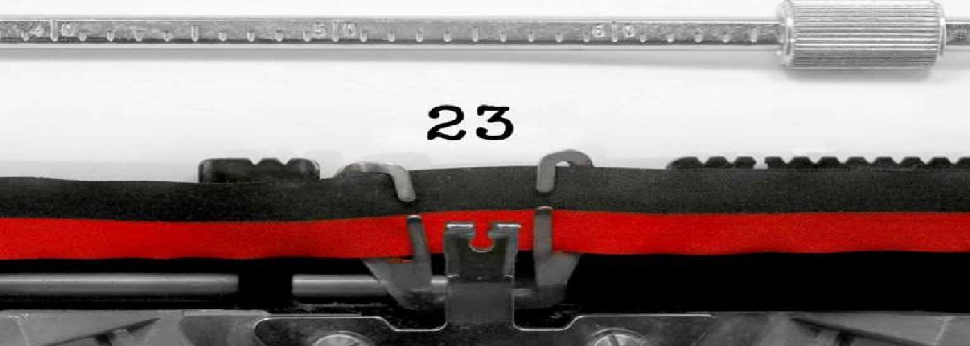 عدد بیست و سه